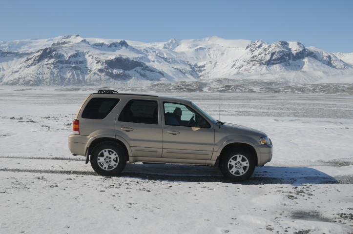 early work in iceland - and the FOrd Escape was excellent in roaming around snow Iceland