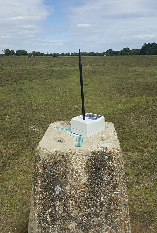 image of test node on trig-point